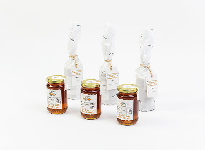 Artisanal Honey Branding