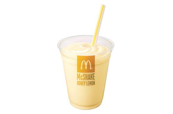 Honey Lemon Milkshakes