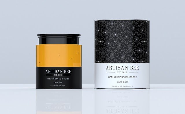 Honey Product Packaging