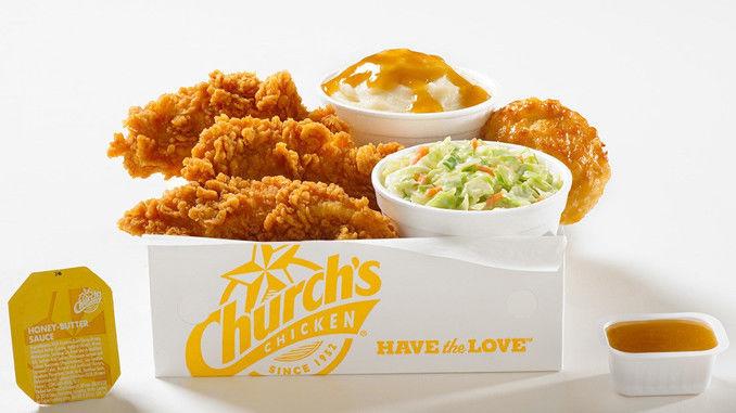 Honey-Flavored Chicken Strips