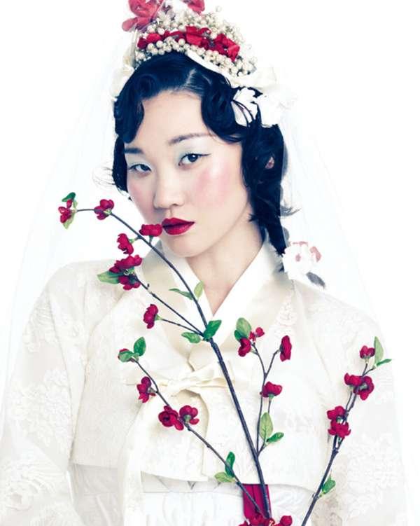 Bold Blossoming Fashion