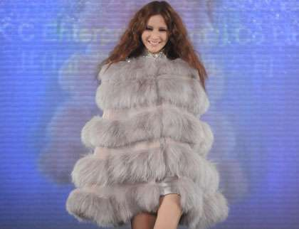Bell-Shaped Fur Frocks