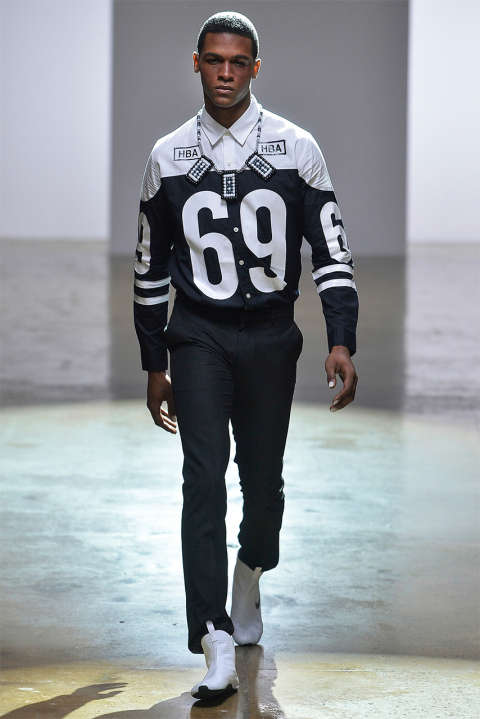 Sports Jersey-Inspired Couture