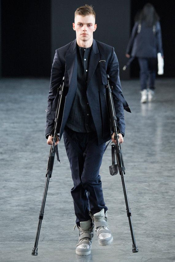 Disheveled Grunge Fashion