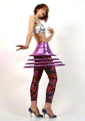Eccentric Space-Age Fashion