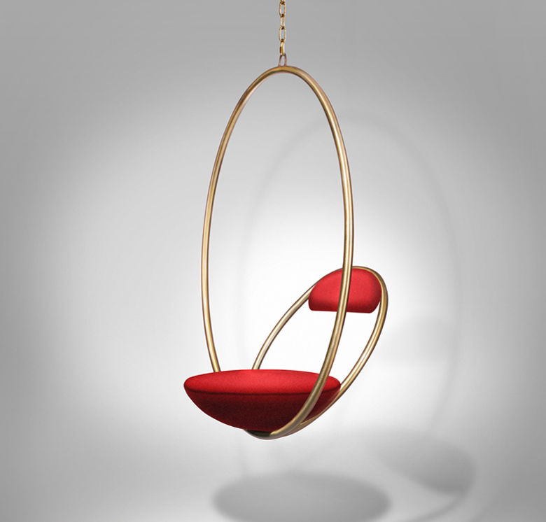 Hanging Hoop Chairs