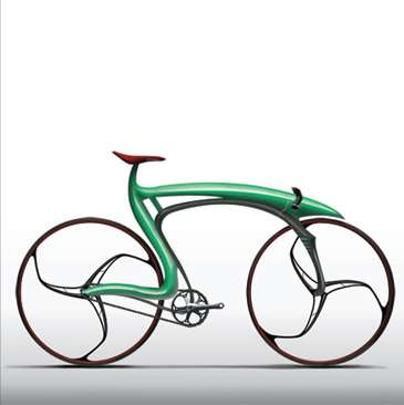 Frog Inspired Bike