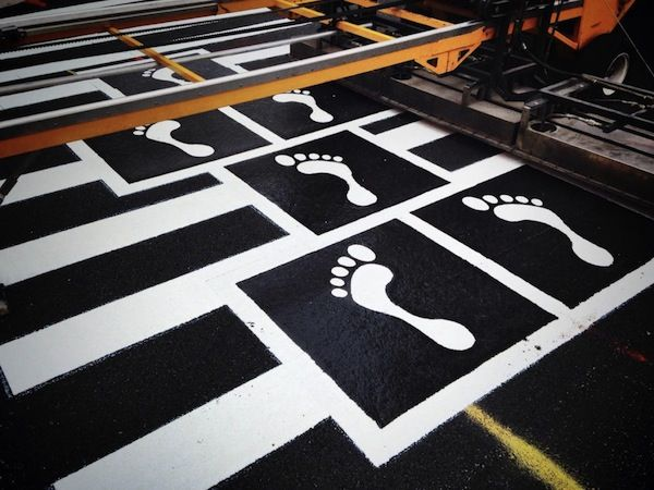 hopscotch crosswalk