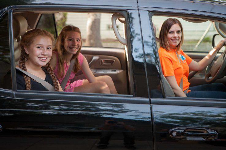 Child-Ridesharing Apps