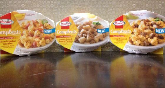 Microwaveable Breakfast Meals