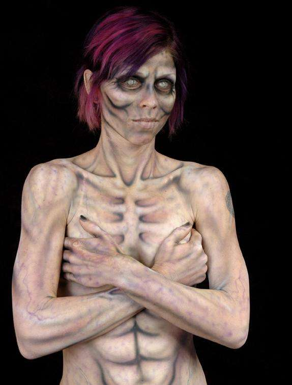 Horror Body Painting