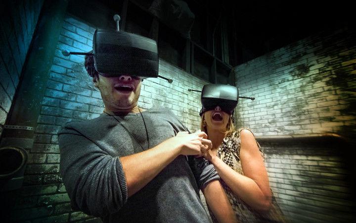 Frightening VR Attractions