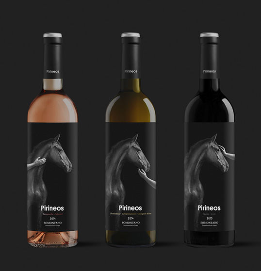 Equestrian Wine Branding