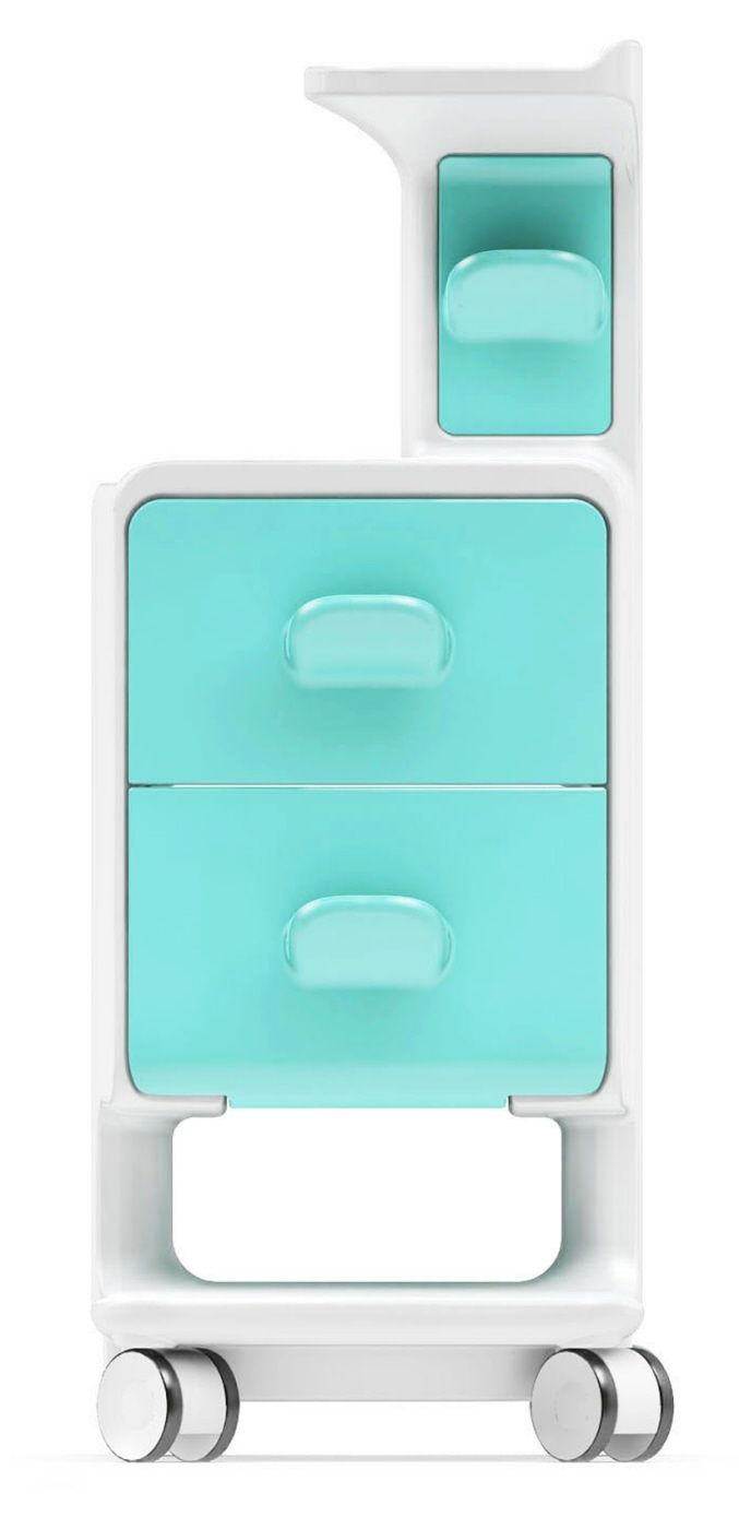 Germ-Reducing Hospital Cabinets