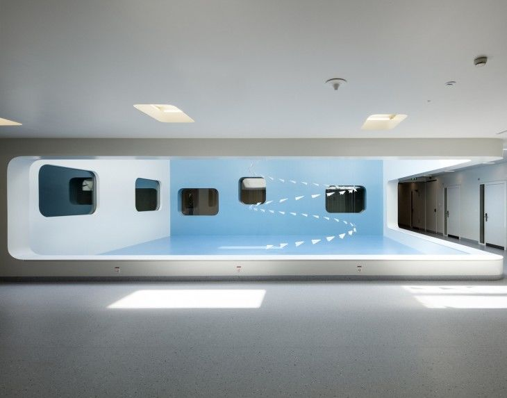 Futuristic Hospital Extensions