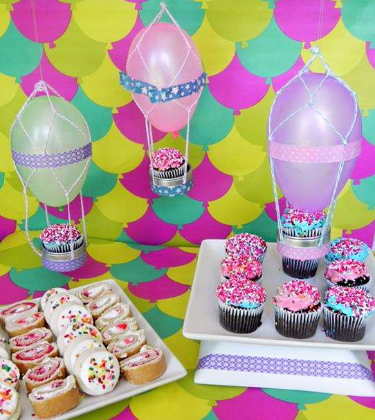 DIY Uplifting Cupcake Decor
