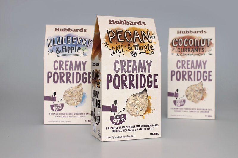 Artisanal Porridge Packaging