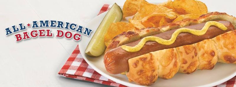 Bagel Hot Dog Buns