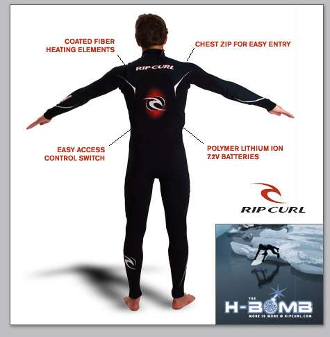 Heat-Generating Wetsuits