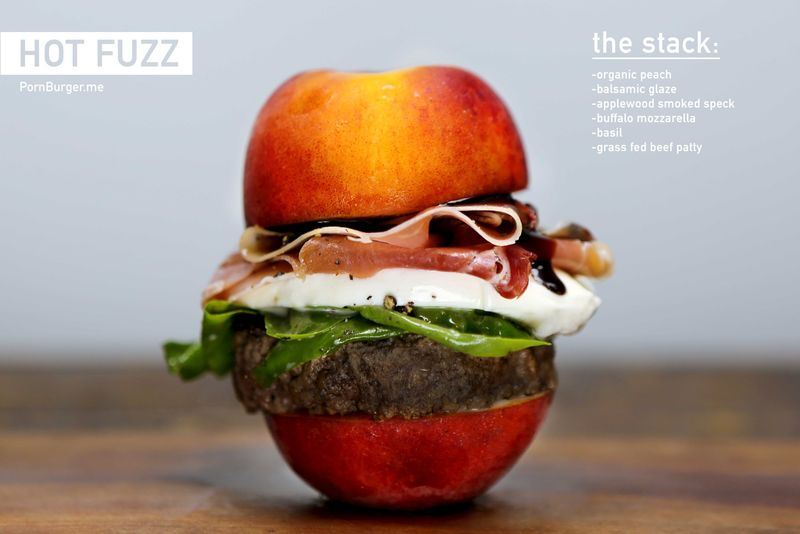 Fruity Burger Buns