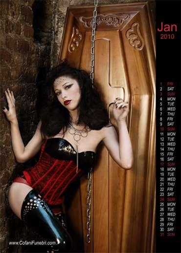 Hot Gothic Coffins