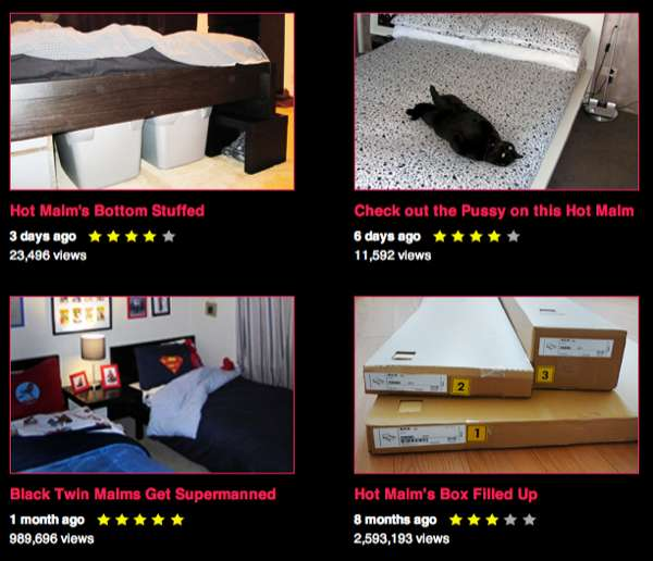 Frisky Bed-Fetishizing Platforms