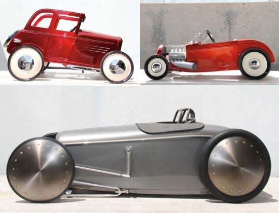 Hot Rod Pedal Cars for the Ford Deuce Anniversary