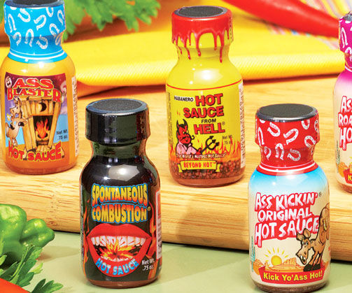 Spicy Sauce Variety Packs