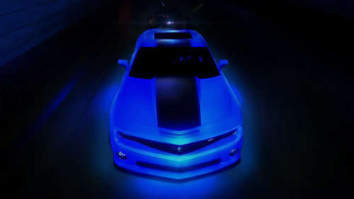 Custom Luminescent Sports Cars