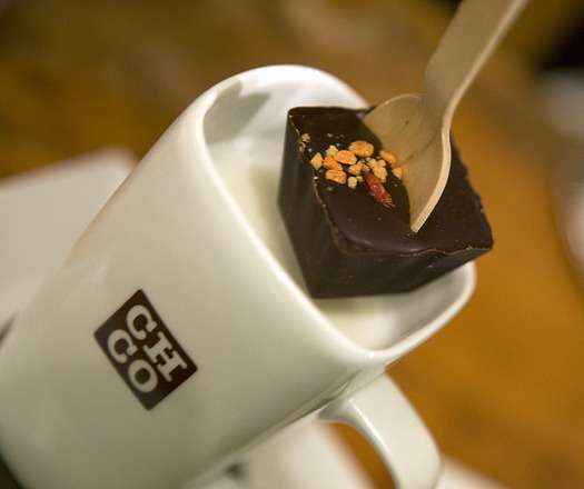 Cubed Chocolate Utensils