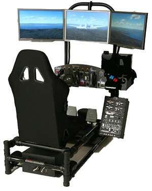 Personal Flight Simulator- HotSeat Chassis