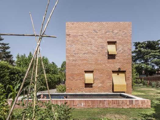 Minimalist Brick Abodes