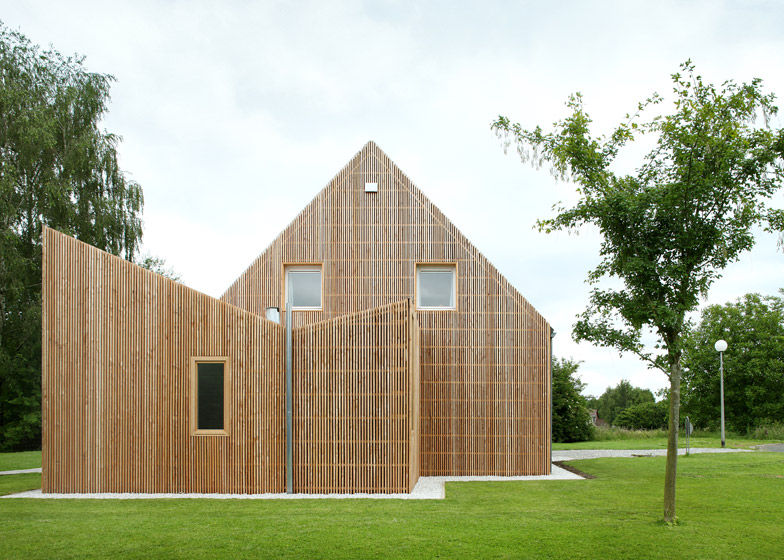 Inverted Wooden Extensions