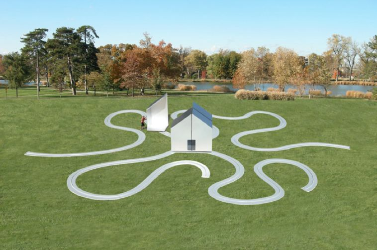 Interactive House Art