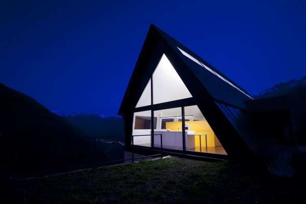 House at the Pyrenees by  Cadaval & Sola-Morale
