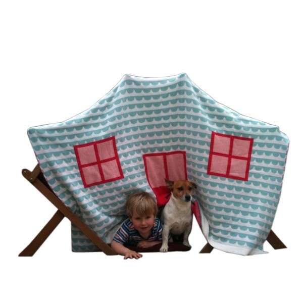 Knit Play Dens House Blanket