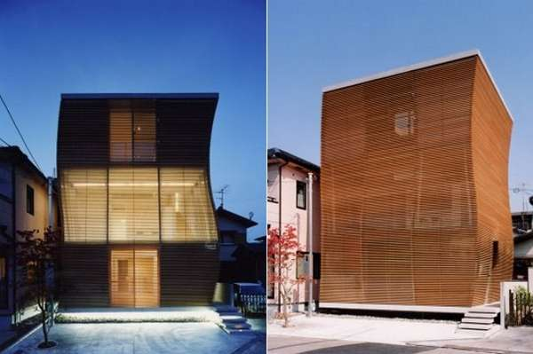 Wood-Wrapped Abodes