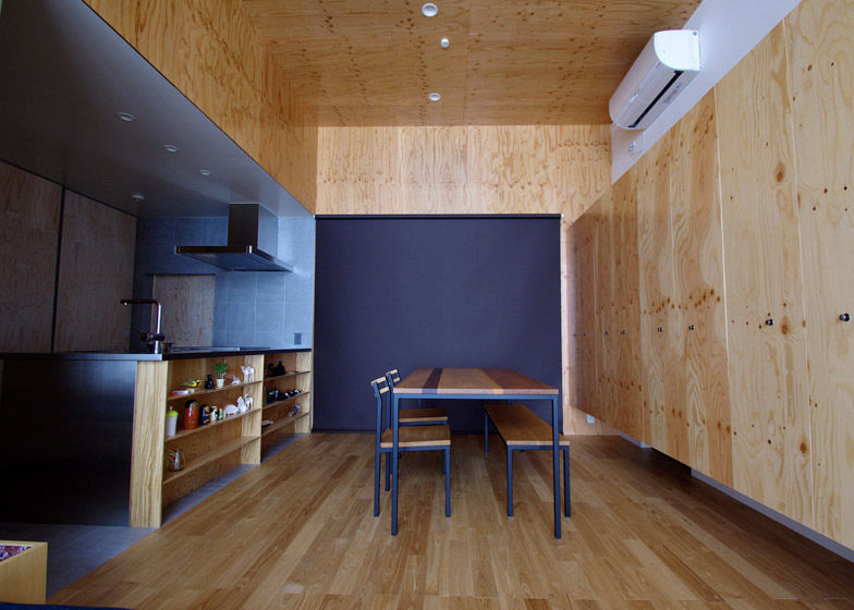 Plywood Interior Residences