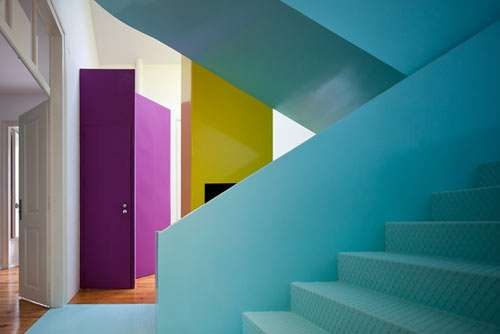 Color-Blocked Residences