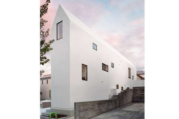Minimalist Stark White Duplexes