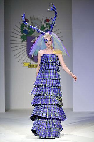 Plaid Street Fashion
