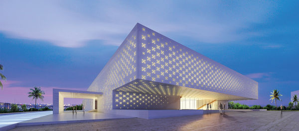 Perforated Cultural Centers