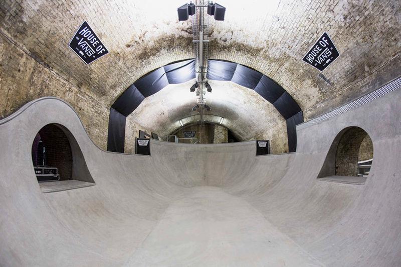 Underground Transport Skateparks