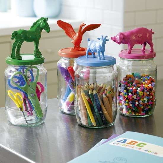 DIY Animated Jar Lids