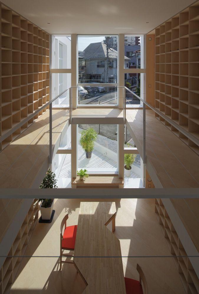 Bookshelf-Lined Homes
