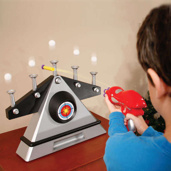 Game Toys To Practice : Futuristic floating target games hover ball shooting gallery