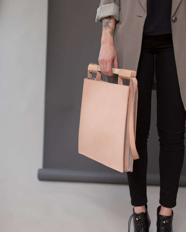 Minimalist Structured Handbags