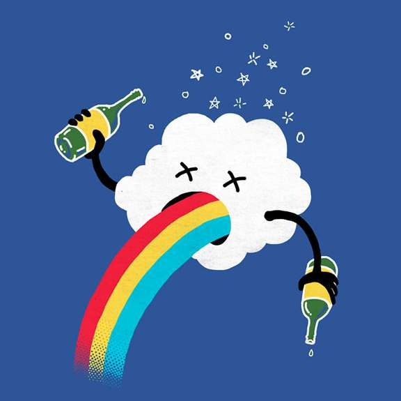How Rainbows are Made T-Shirt
