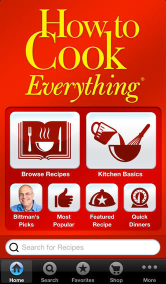Helpful Cuisine Apps