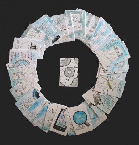 Handmade Meditation Cards
